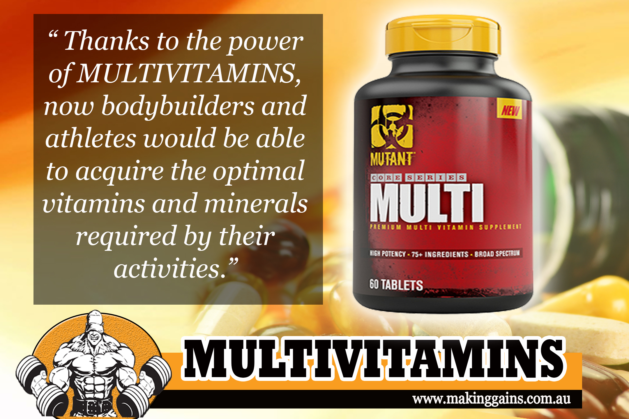 Multivitamins and Muscles