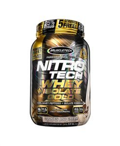 Muscletech Nitrotech Whey + Isolate Gold