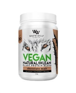 White Wolf Lean Vegan Protein Chocolate