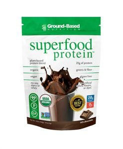 Groundbased Nutrition Superfood Protein 400g Chocolate