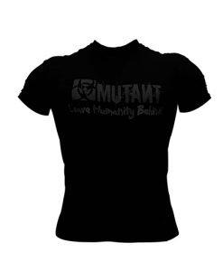 Mutant Black on Black Print